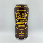 Town & Country Blonde Ale, Dominion City Brewing