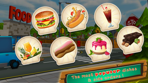 Fast Food Chef Truck : Burger Maker Game 1.0 screenshots 8