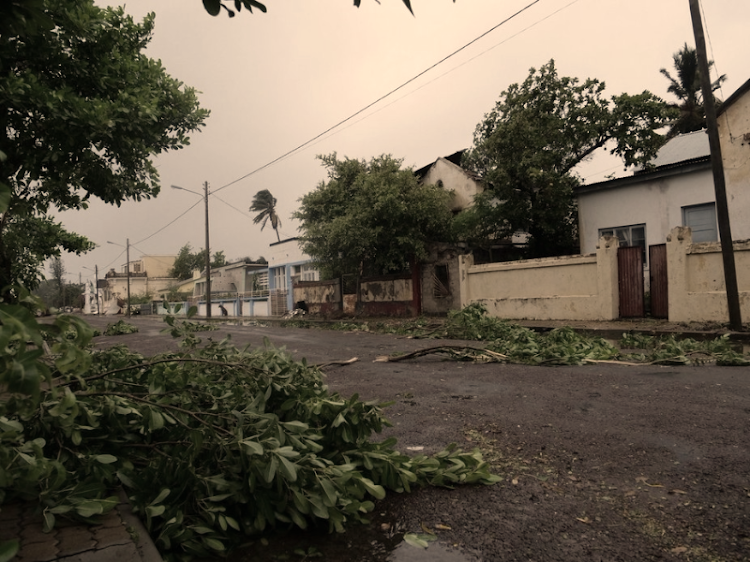 Some of the destruction in Inhambane, Mozambique after tropical storm Dineo made landfall. Picture: TWITTER, STEVEN CLAREY