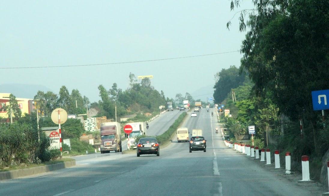 Quốc lộ 1A đoạn qua Nghệ An đưa vào sử dụng từ tháng 1/2015