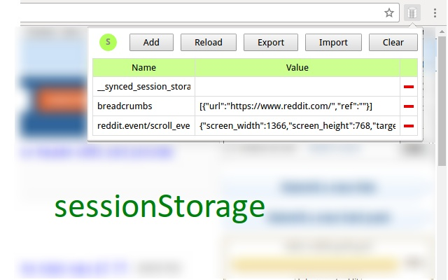 LocalStorage Manager
