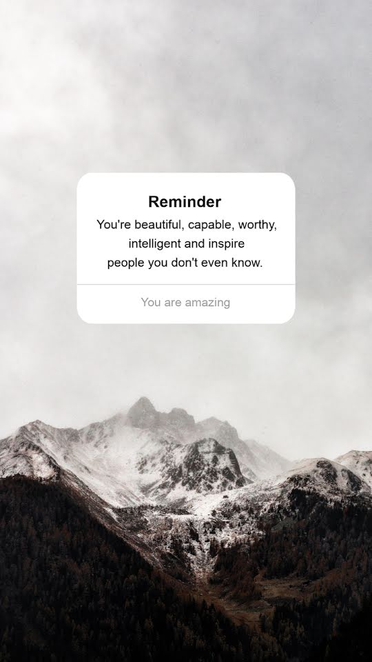 You Are Amazing - Facebook Story Template