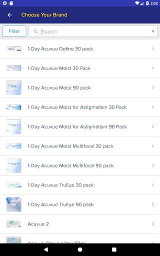 1800 Contacts - Lens Store 7.5.6 screenshots 8