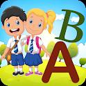 تعليم الانجليزية الابتدائية حروف وارقام وكلمات icon