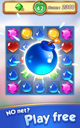 Jewel & Gem Blast - Match 3 Puzzle Game apktram screenshots 10