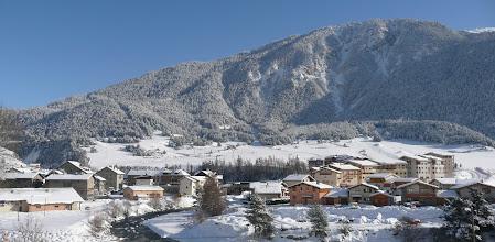 Photo: La station en hiver