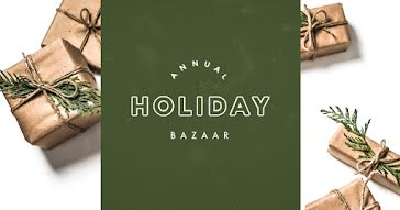 Annual Holiday Bazaar - Christmas Template