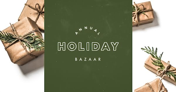 Annual Holiday Bazaar - Christmas Template