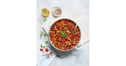 Slow Cooker Vegan Bean & Vegetable Chilli
