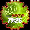 Musulmana Tiempo Reloj Widget icon