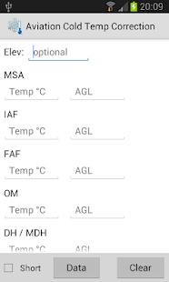 Aviation Cold Temp Correction - náhled