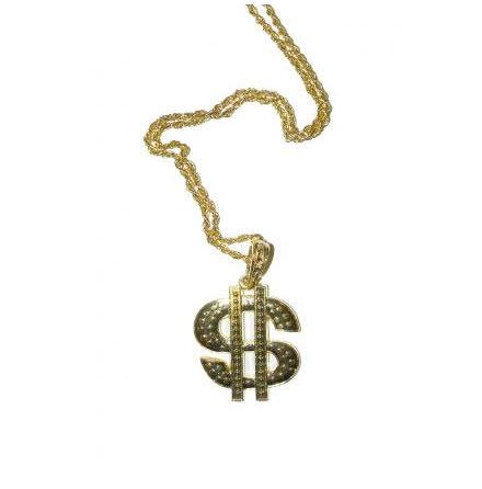 Guldhalsband, dollar