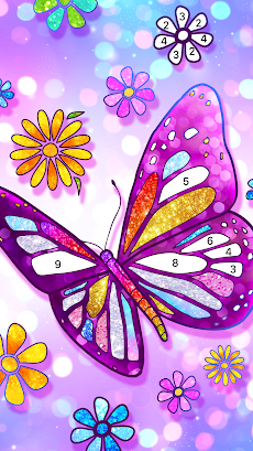 Color Fun - 数字で塗り絵 & ぬりえ - 色塗りアプリのおすすめ画像3
