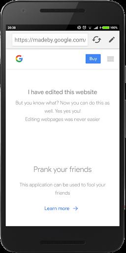 Edit Website Pro screenshot 1