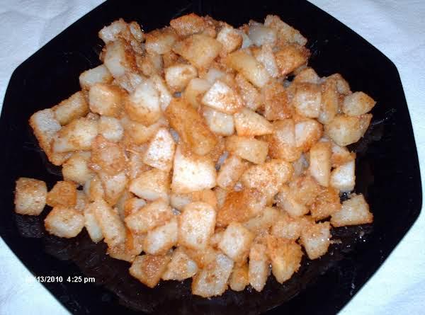 Golden Diced Potatoes Recipe