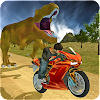 Course de vélo sim: dino world APK
