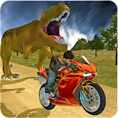 Bike Racing Sim: Dino World