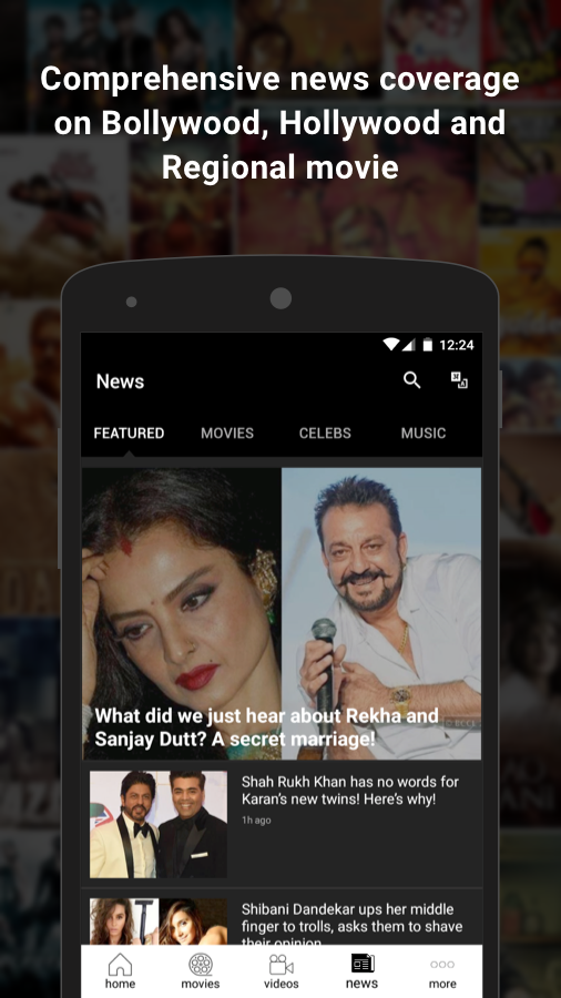 FILMIPOP : Bollywood News, Movies & Showtimes- screenshot