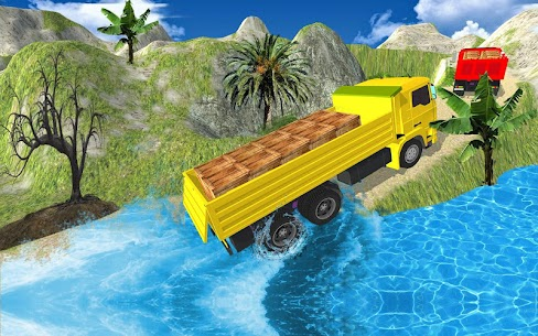 Truck Cargo Driving Hill Simulation : Truck Games 9