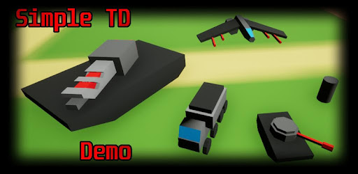 Demo game level that comes with the Simple Tower Defense Template