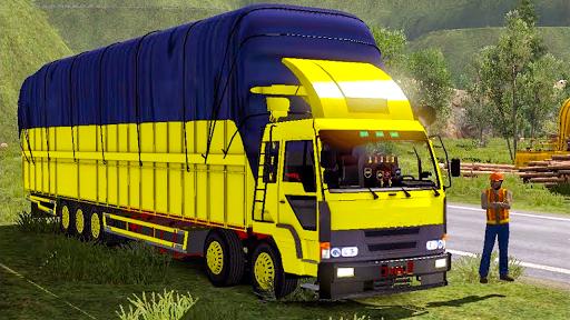 Télécharger Indien Montagne cargaison un camion simulateur mod apk screenshots 1