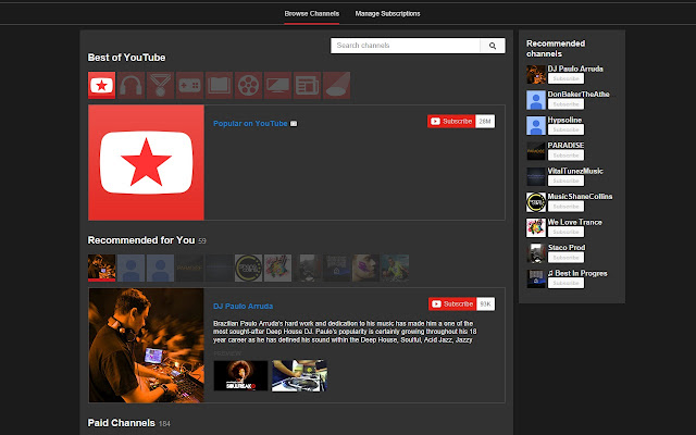 Theme for Youtube™