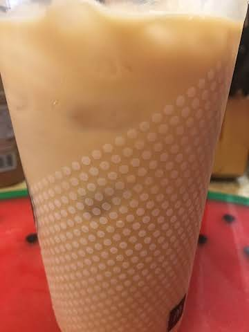 Copycat sugar-free vanilla iced coffee