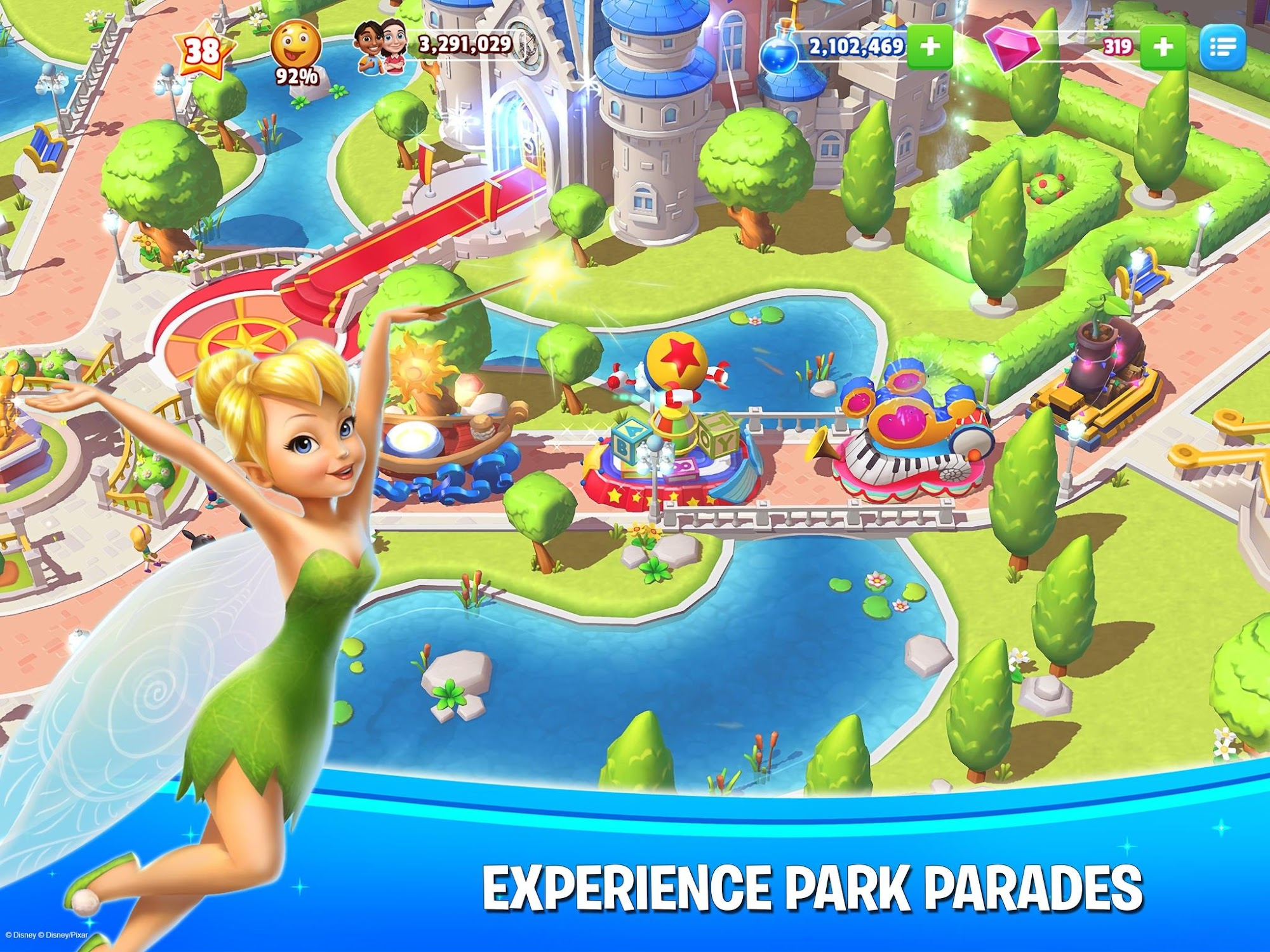 Disney Magic Kingdoms screenshot #5