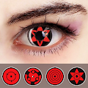 Sharingan Eyes - Ninja Camera Effect icon