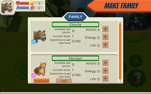Cougar Simulator: Big Cat Family Game 1.045 screenshots 3