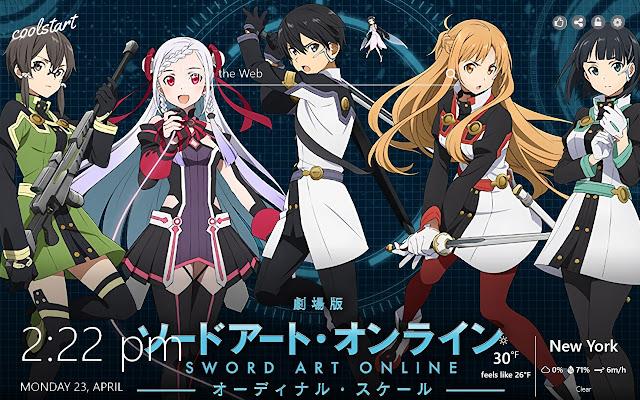 Sword Art Online HD Wallpapers SAO Tab Theme