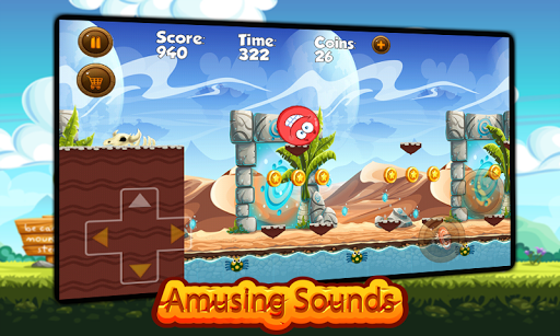 Super Red Ball: Red Ball in the Jungle Adventures 1.01.0 screenshots 3