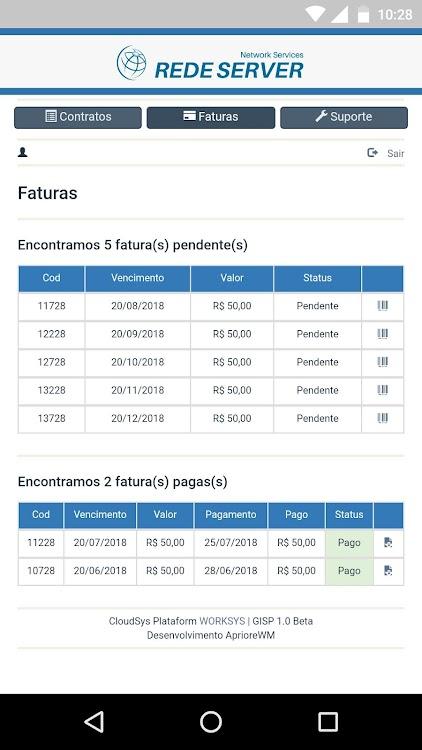 Rede Server Telecom Android تطبيقات Appagg