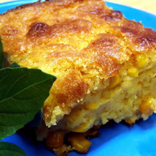 Sunday Dinner Southern Corn Pudding.