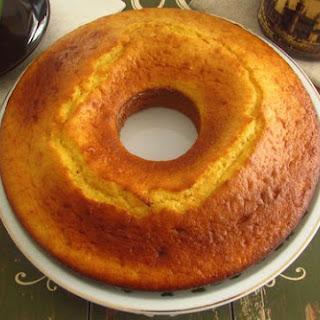 Orange And Milk Cake.