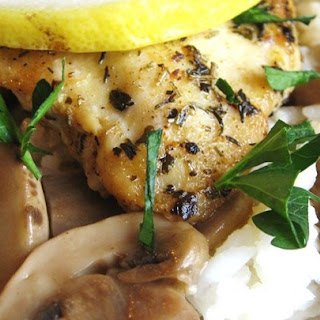 Lemon Baked Chicken With Mushrooms Recipes