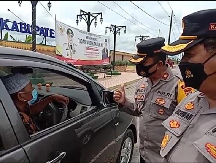 Kompolnas Katakan Polres Batu Bara Bekerja Sangat Baik Dalam Intruksi Pemerintah Terang Larangan Mudik