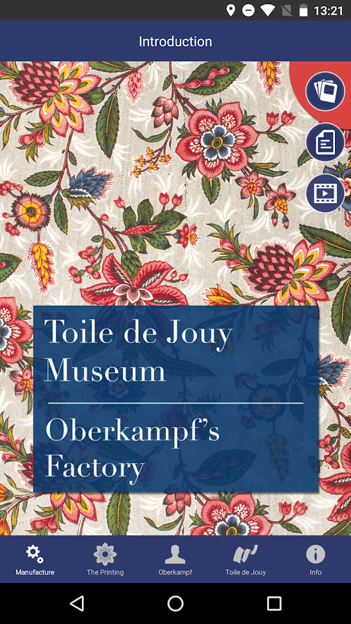 Toile de Jouy Museum- screenshot
