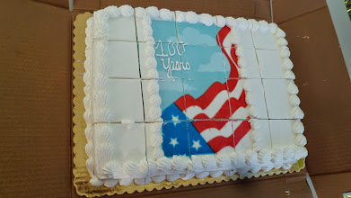 Photo: Cake for the centennial party...  100 YEARS!