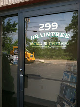Photo: Braintree Heating and Air conditoning in Holbrook, MA proudly displaying their BBB Accreditation
