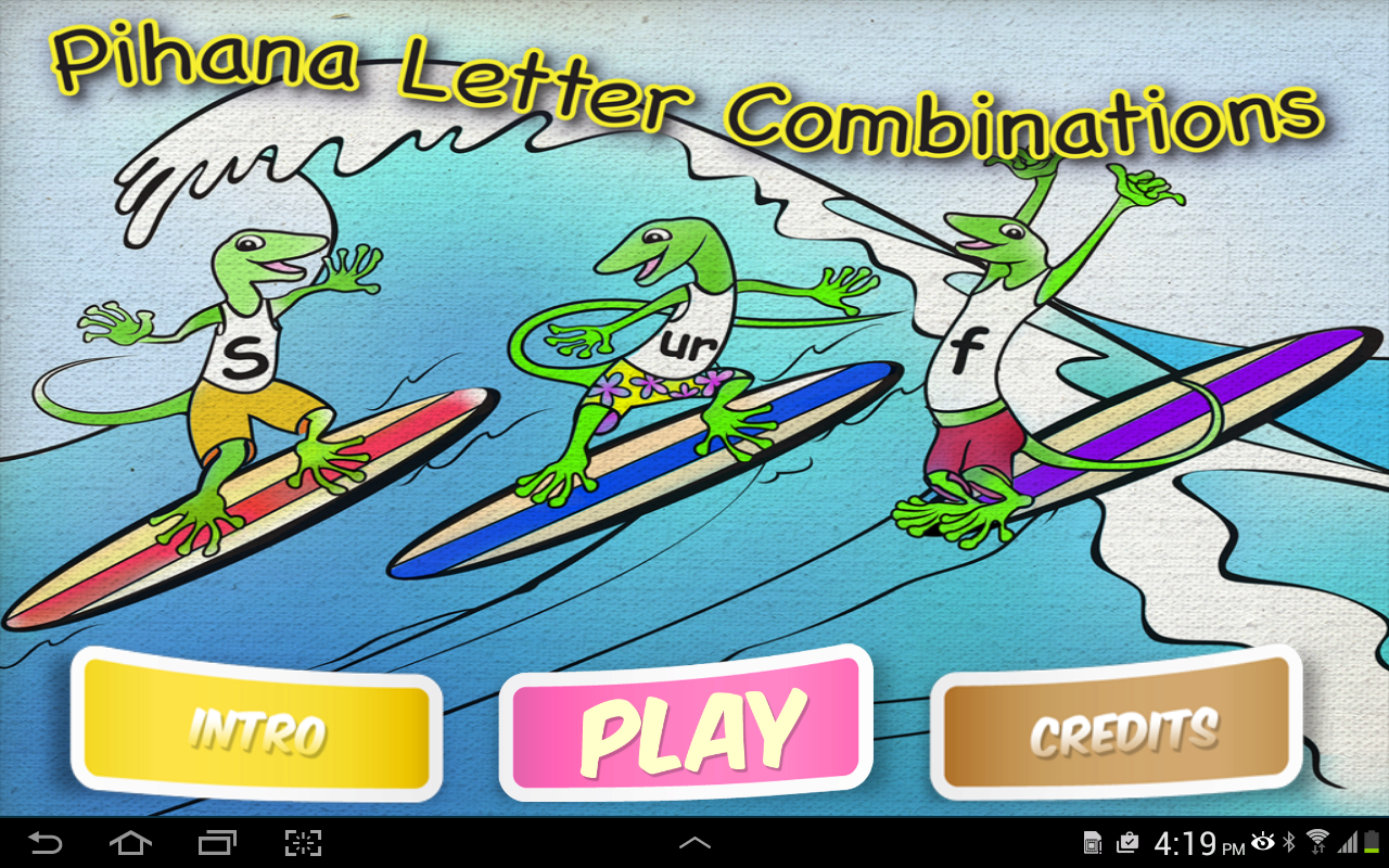 Pihana Letter Combinations- screenshot