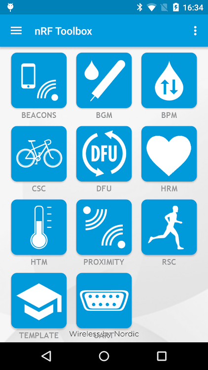 nRF Toolbox for BLE – (Android Apps) — AppAgg