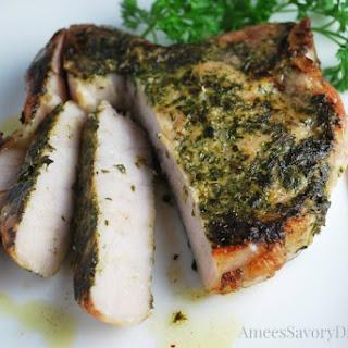 Sous Vide Garlic & Herb Rubbed Pork Chops Recipe