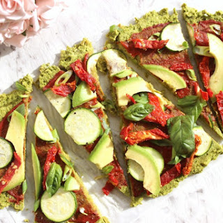 Spinach Vegan Pizza Crust.