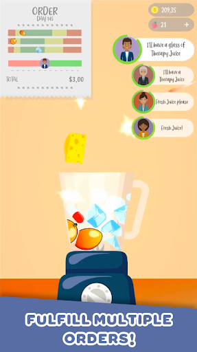 Juice Ninja -  ud83eudd64 Juicy Slice Simulation! android2mod screenshots 5