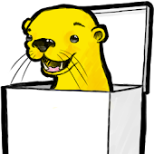 Otter in a Box