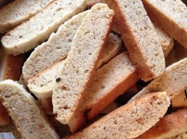 Lemon Walnut Biscotti Recipe