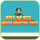 Pixel Bounce 2D game (game)