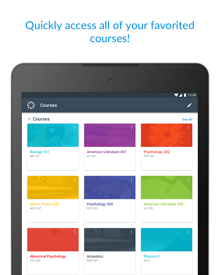 Canvas Teacher- screenshot