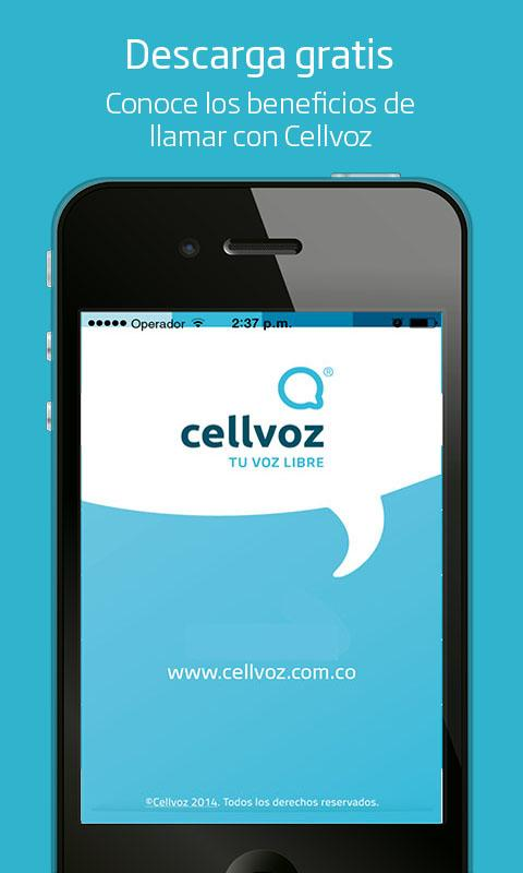 Cellvoz- screenshot